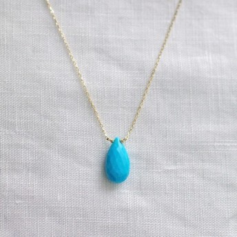 namida: Turquoise(necklace)2 アリゾナターコイズのネックレス