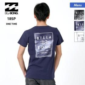 BILLABONG/ビラボン メンズ 半袖 Tシャツ ティーシャツ トップス クルーネック ロゴ バックプリント AI011-210