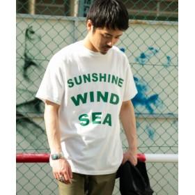 ITEMS(アイテムズ) トップス Tシャツ・カットソー ロゴプリント製品染めTシャツ