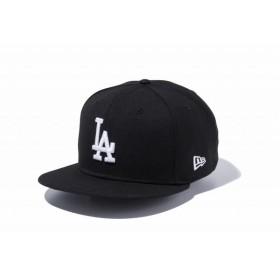 ニューエラ(NEW ERA) 9FIFTY ロサンゼルス・ドジャース ブラック × ホワイト 11308479