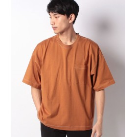 【44%OFF】 ウィゴー WEGO/ステッチワークビッグTシャツ メンズ ダークオレンジ M 【WEGO】 【タイムセール開催中】