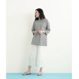 NIMES / ニーム スカラップ刺繍 イージーパンツ