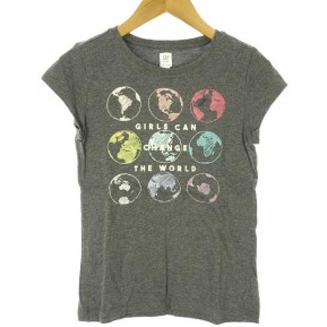 ebed852d0bcb2 中古】GAP KIDS Tシャツ カットソー 半袖 L 10 140cm プリント 地球 子供 ...