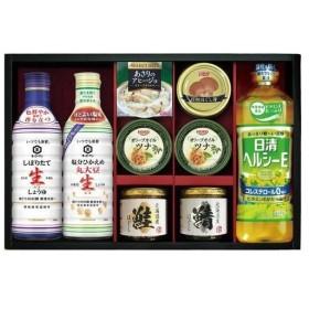 お中元 御中元 ギフト 内祝い 内祝 お返し 醤油 セット 詰め合わせ キッコーマン 生しょうゆ & 瓶詰 ・ 缶詰 SC-50F (8)