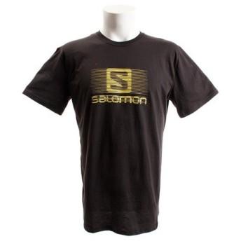 サロモン(SALOMON) 【多少の汚れ等訳あり大奉仕】ブレンドロゴ 半袖Tシャツ L39373700 (Men's)
