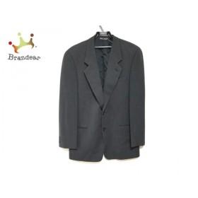 ジョルジオアルマーニ GIORGIOARMANI ジャケット サイズ48RFG メンズ 美品 黒×ダークグレー     スペシャル特価 20191110