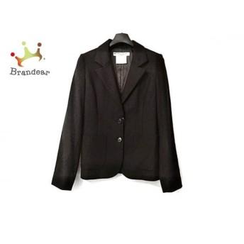 キャサリンハムネット KATHARINEHAMNETT ジャケット サイズM レディース 美品 黒×ライトグレー スペシャル特価 20190902