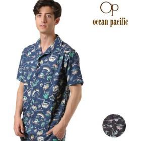 メンズ 半袖シャツ ユーティリティ 水陸両用 ラッシュガード OP オーピー 519497 GX1 E25