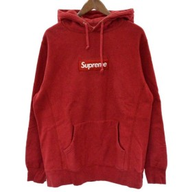 SUPREME(シュプリーム)16AW Box Logo Hooded Sweatshirt ボックスロゴプルオーバーパーカー レッド