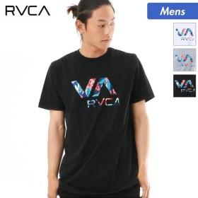 RVCA/ルーカ メンズ 半袖 Tシャツ ティーシャツ ロゴ 柄 クルーネック AI041-226