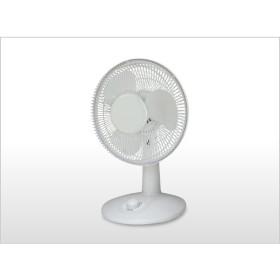 テクノス 18cm卓上扇風機 TI-1882(W) [ホワイト]