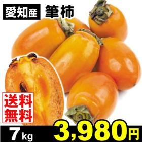 柿 かき 愛知産 筆柿 7kg 果物 食品 国華園
