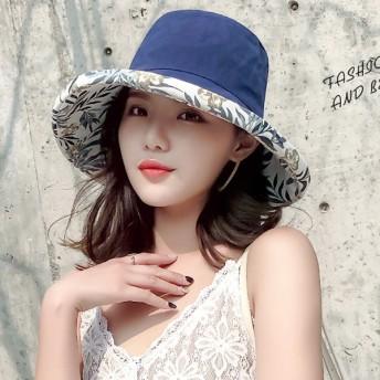 帽子全般 - WITCH 帽子 レディース 両面使い 紐付き 飛ばない 折りたたみ 自転車 UV UVカット ハット つば広 レディース 婦人服 女性大人おしゃれ トレンド カジュアル 楽ちん かわいい 夏 新作_acc-10715