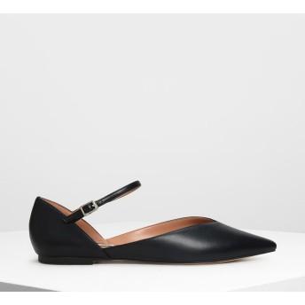 【再入荷】ブイトップ メリージェーンフラット / V-top Mary Jane Flats (Black)