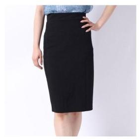 フューティアランド Futier Land バックポケット付きストレッチタイトスカート (ブラック)