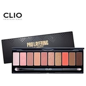 Clio Eye Shadow 10Colors Pro Layering Eye Palette Makeup #3 Softish /[韓国コスメ CLIO] プロ レイヤーリング アイ・パレット