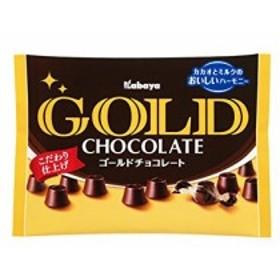 カバヤ ゴールドチョコレート 183g×6袋