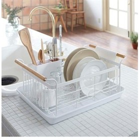 【212 KITCHEN STORE:キッチン用品・調理器具】tosca (トスカ) 水切リバスケット ホワイト