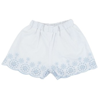 スカート [ベビー]シンプルフリーキュロットスカート ホワイト ベビー・キッズウェア ベビー(70~95cm) ボトムス(女児) (101)