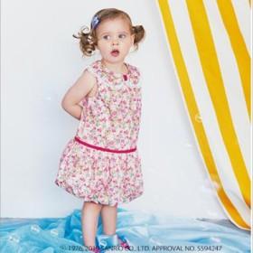 メゾ ピアノ/Hello Kitty×Liberty Fabrics バルーンワンピース