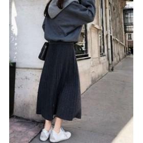スカート ロング レディース 膝丈 黒 おしゃれ 大きいサイズ フレアスカート 30代 マキシ丈 50代 20代 40代