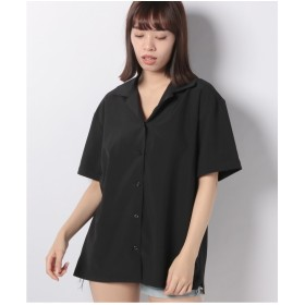 PUNYUS 【セットアップ対応商品】半袖開襟シャツ(ブラック)【返品不可商品】