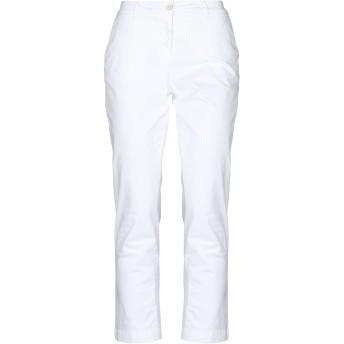 《セール開催中》JECKERSON レディース パンツ ホワイト 26 コットン 57% / テンセル 40% / ポリウレタン 3%