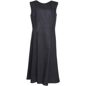 《送料無料》SOFIE D'HOORE レディース 7分丈ワンピース・ドレス ダークブルー 40 コットン 100%