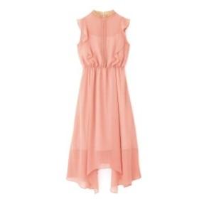 プロポーションボディドレッシング(PROPORTION BODY DRESSING)/《Lou Lou Fee》フロントレースネックドレス