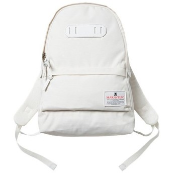 マキャベリック(MAKAVELIC) デイパック TRUCS STANDARD DAYPACK ホワイト 3105-10104 バックパック リュック タウンユース カジュアル バッグ