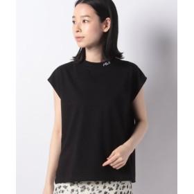 (RETRO GIRL/レトロガール)FILAロゴ刺繍ノースリ/レディース ブラック