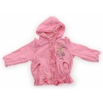 【オシュコシュ/OSHKOSH】パーカー 80サイズ 女の子【USED子供服・ベビー服】(395660)