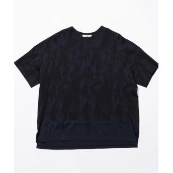 【20%OFF】 ラブレス MEN クルーネックコンビネーションTシャツ メンズ ネイビー1 3 【LOVELESS】 【セール開催中】