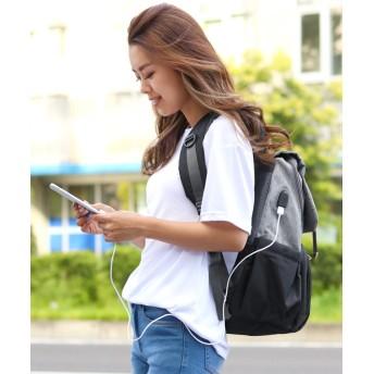 リュック・バックパック - REAL STYLE 多機能 USBポート付き マザーズリュック レディース 撥水 はっ水 マザーズバッグ リュック リュックサック ママリュックママバッグ 背面ポケット 鞄 かばん カバン バッグ 多収納 大容量 大きめ 軽量