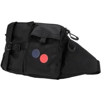 《セール開催中》PINQPONQ Unisex バックパック&ヒップバッグ ブラック ポリエステル 100% TETRIK HIPBAG