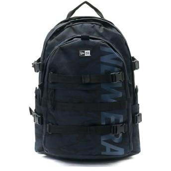 ギャレリア ニューエラ リュック NEW ERA メンズ Carrier Pack キャリアパック 大容量 A4 B4 通学 35L レディース ユニセックス ネイビー系1 F 【GALLERIA】