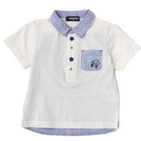 クレードスコープ/後ろ切替半袖ポロシャツ