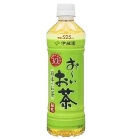 【まとめ買い】伊藤園 おーいお茶 緑茶 ペットボトル 525ml×24本(1ケース)