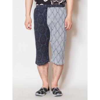 パンツ・ズボン全般 - チャイハネ 【カヤ】紋繋メンズ七分丈パンツ