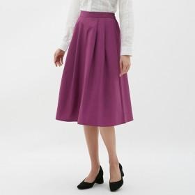 (GU)カラーフレアスカート PURPLE S
