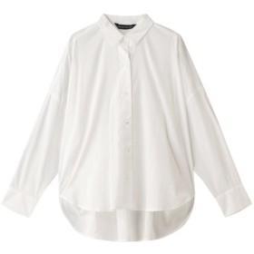 SALE 【30%OFF】 mizuiro ind ミズイロインド コクーンロングスリーブシャツ オフホワイト