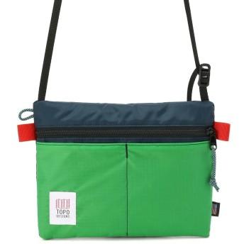 ビーバー TOPO DESIGNS/トポデザインズ ACCESSORY SHOULDER BAG/ショルダーバッグ メンズ GREEN F 【BEAVER】