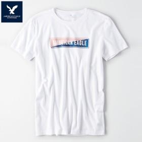 アメリカンイーグル 半袖 Tシャツ USAモデル メンズ AE American Eagle 正規品 ae1997 ホワイト
