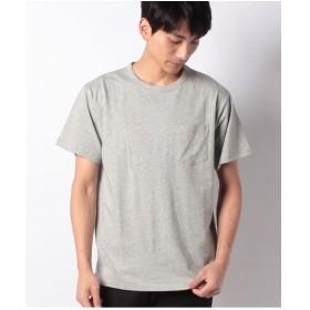 koe オーガニックコットンクルーネックTシャツ(杢ライトグレー)【返品不可商品】