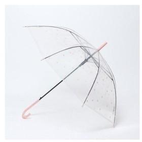 セストセンソ SESTO SENSO 雨の日も可愛いロゴビニール傘 (PINK)