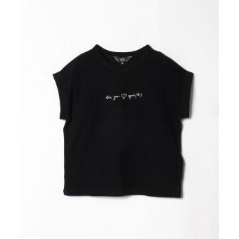 agnes b. アニエスベー メッセージTシャツ レディース 4412W984H18