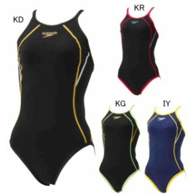 d0490c1dd94 スピード 水泳 水球 競泳トレーニング用水着 ウィメンズ タッチ ターンズ スーツ speedo STW01901