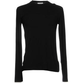 《期間限定 セール開催中》VERSACE COLLECTION メンズ T シャツ ブラック L レーヨン 64% / ウール 22% / ナイロン 14%