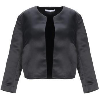 《9/20まで! 限定セール開催中》LANACAPRINA レディース テーラードジャケット ブラック 42 ポリエステル 80% / コットン 20%
