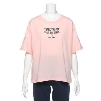 ラブトキシック/ラメチョーカーつきロゴTシャツ